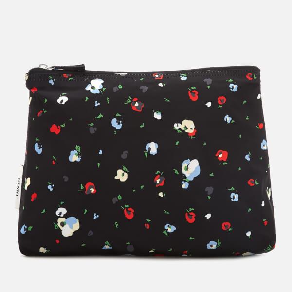 Ganni Women's Fairmont Make Up Bag - Black