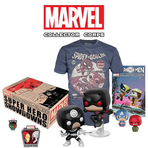 Marvel Collector's Corps Box - Superhero Showdowns