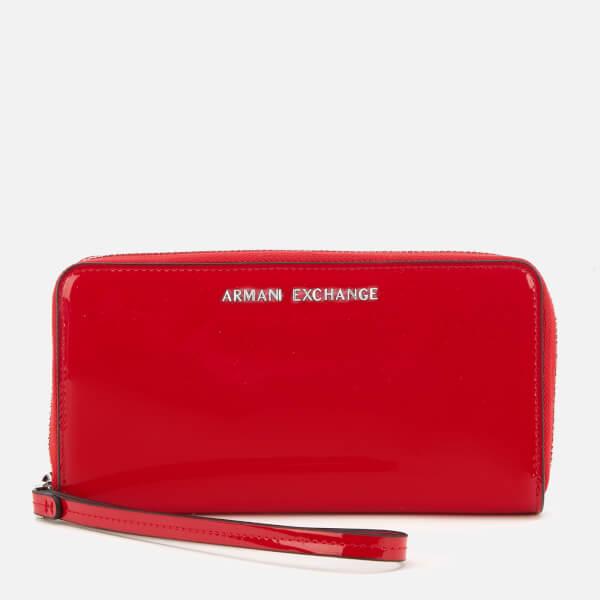 Armani Exchange Women's Wristlet Purse - Red