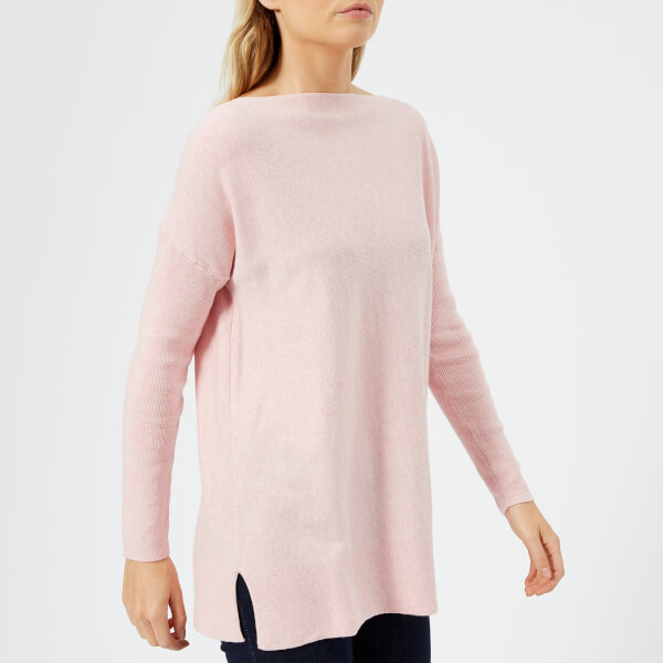Joules Women's Lilly Boat Neck Jumper - Pink