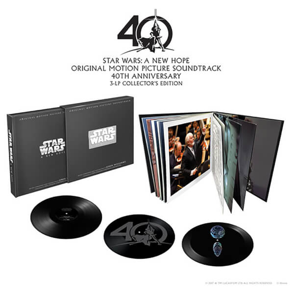 Star Wars: A New Hope/O.S.T. Vinyl