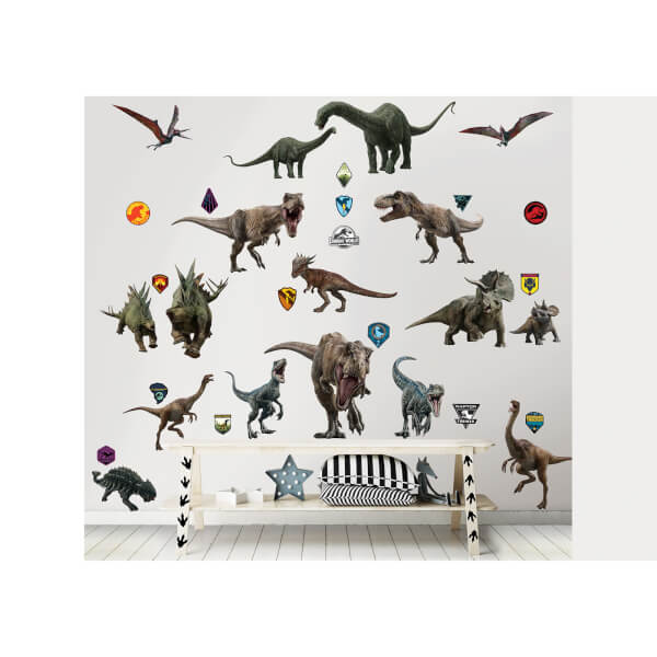 Walltastic Jurassic World Fallen Kingdom Room Decor Kit