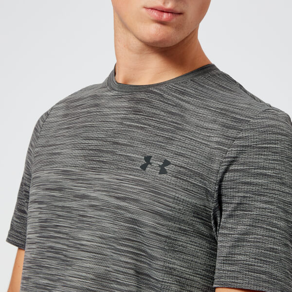 d5884703ee6c5 Under Armour Men s Vanish Seamless Short Sleeve Top - Charcoal  Image 4