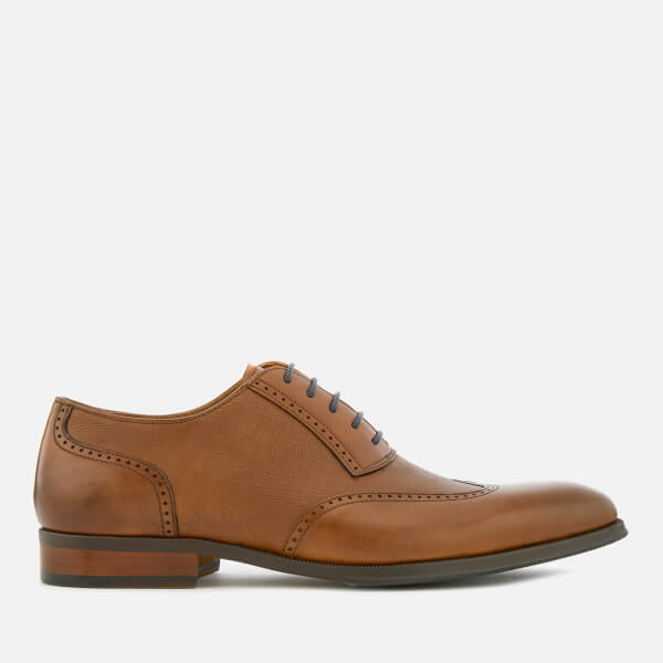 Dune Men's Payne Leather Brogues - Tan