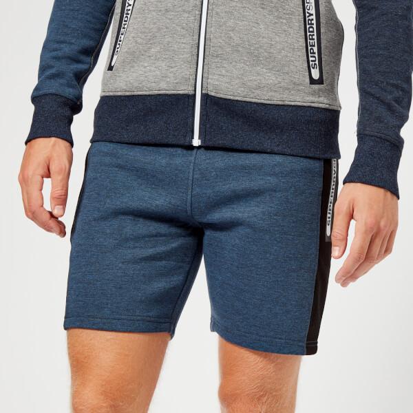 Superdry Sport Men s Court Shorts - Washed Indigo Heather Mens ... 7ac15f0f369e