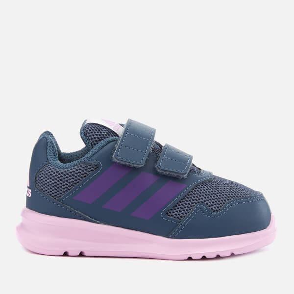 b9aa0a80c56100 adidas Alta Run CF Infant Trainers - Tech Ink Junior Clothing ...