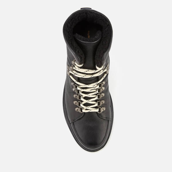 81ed88f19dc Kurt Geiger London Men s Amber Leather Hiker Style Boots - Black  Image 3