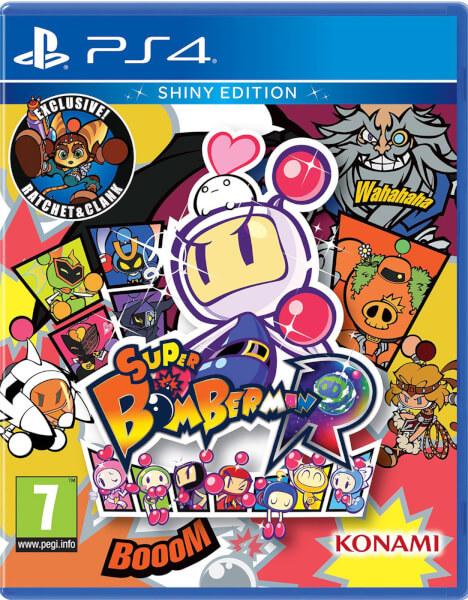 Super Bomberman R Black Bomber: Super Bomberman R Shiny Edition PS4