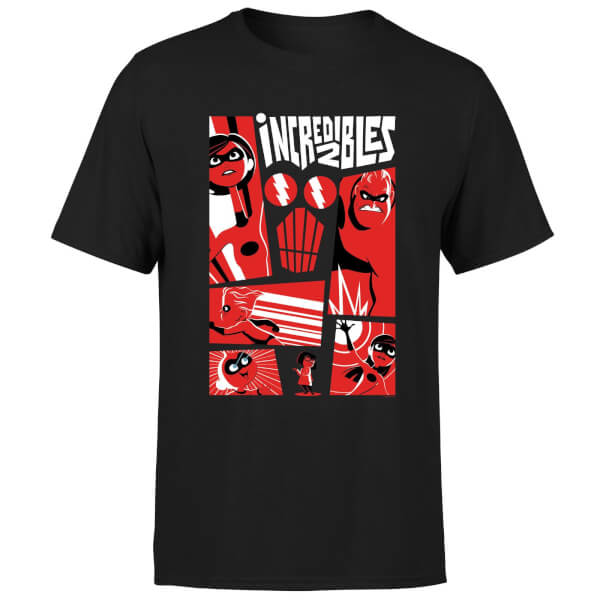 The Incredibles 2 Poster Men's T-Shirt - Black