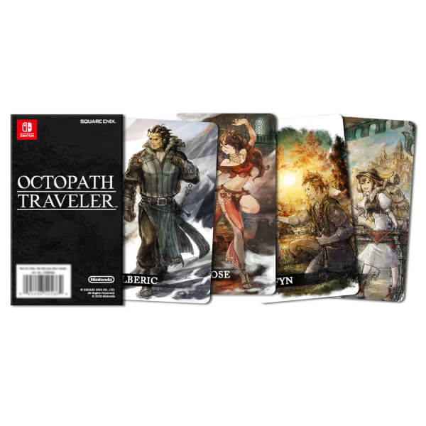 Octopath Traveler Compendium Edition + Collectable Cards: Image 41