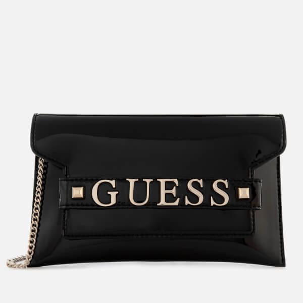 280b64a932 Guess Women s Summer Nights City Clutch Bag - Black Womens ...