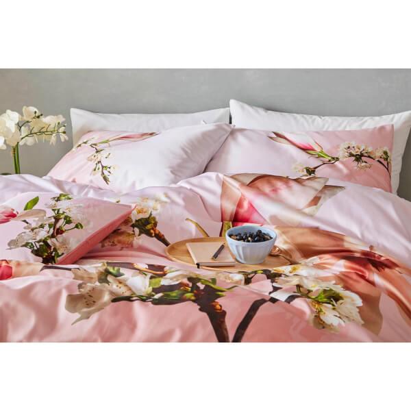 c6e8613db Ted Baker Harmony Pillowcase Pair - Pink Homeware