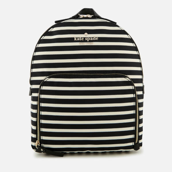 Kate Spade New York Women's Hartley Backpack - Black/Clotted Cream