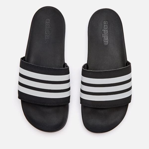 brand new 248fd 7bb87 adidas Mens Adilette Comfort Slide Sandals - Core Black · View large image
