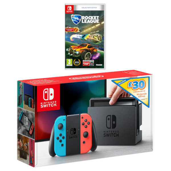 Nintendo Switch Rocket League Ultimate Bundle + £30 eShop Credit