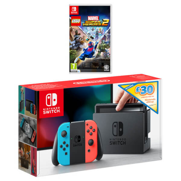 Nintendo Switch Lego Marvel Ultimate Bundle + £30 eShop Credit