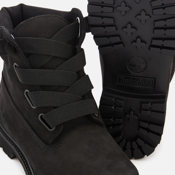 efef1117f7827 Timberland Women's 6 Inch Premium Waterproof Leather Convenience Boots -  Black: Image 4