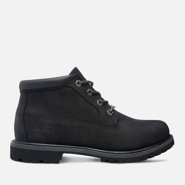 Timberland Women's Nellie Double Leather Chukka Boots - Black