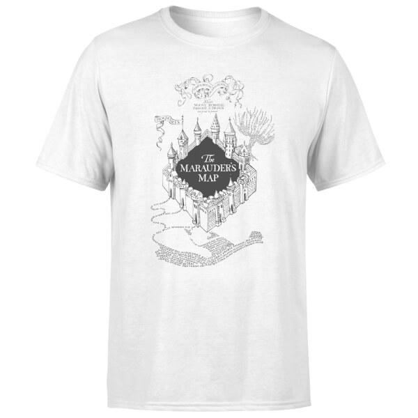 Harry Potter The Marauder's Map Men's T-Shirt - White