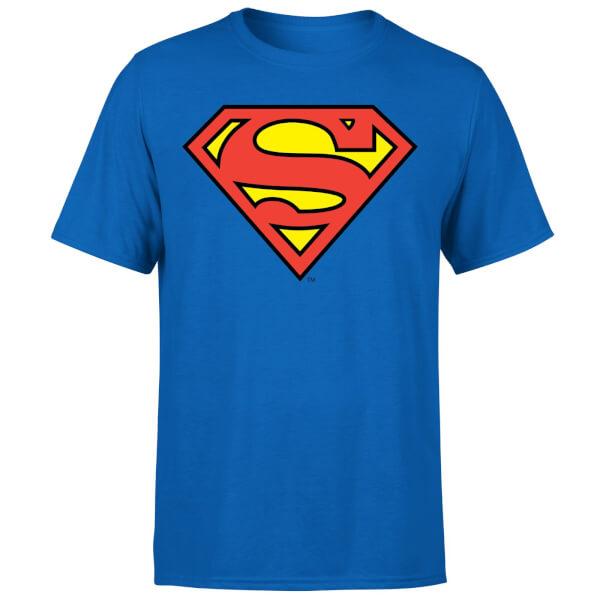 DC Originals Official Superman Shield Men's T-Shirt - Royal Blue