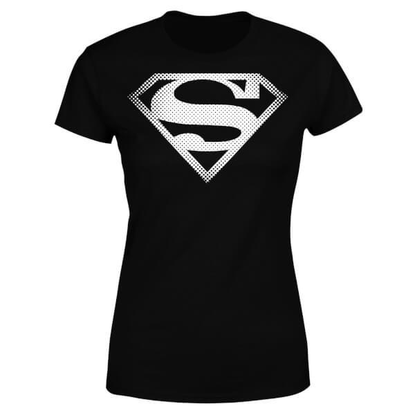 DC Originals Superman Spot Logo Women's T-Shirt - Black
