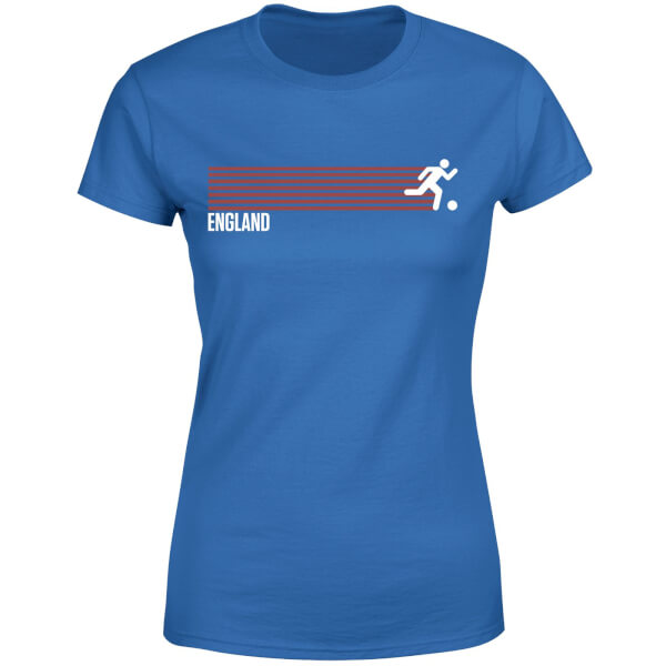 England Forward Women's T-Shirt - Royal Blue