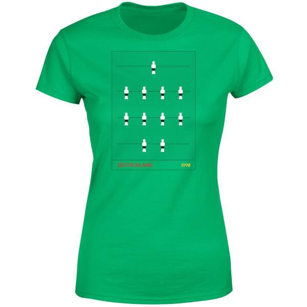 los recién llegados Amazonas venta barata ee. Camiseta Fútbol Alemania Futbolín - Mujer - Verde