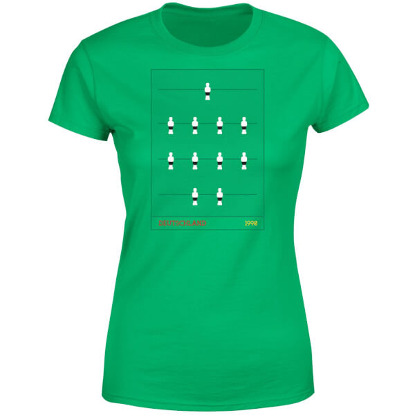 Fooseball Deutschland Women's T-Shirt - Kelly Green