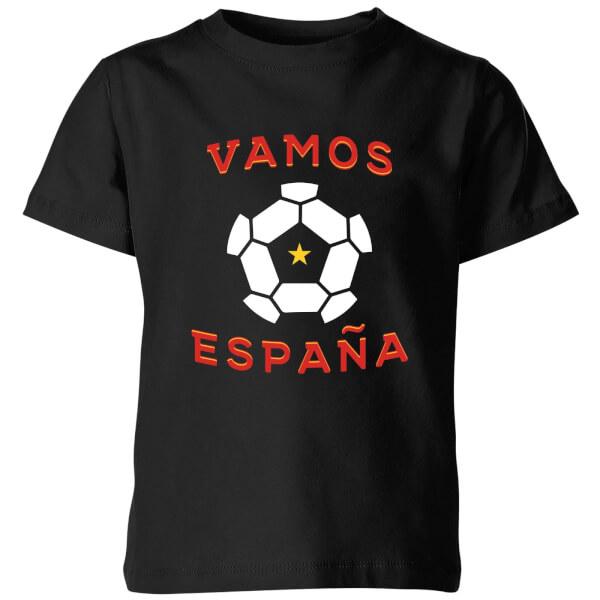 Vamos Espana Kids' T-Shirt - Black