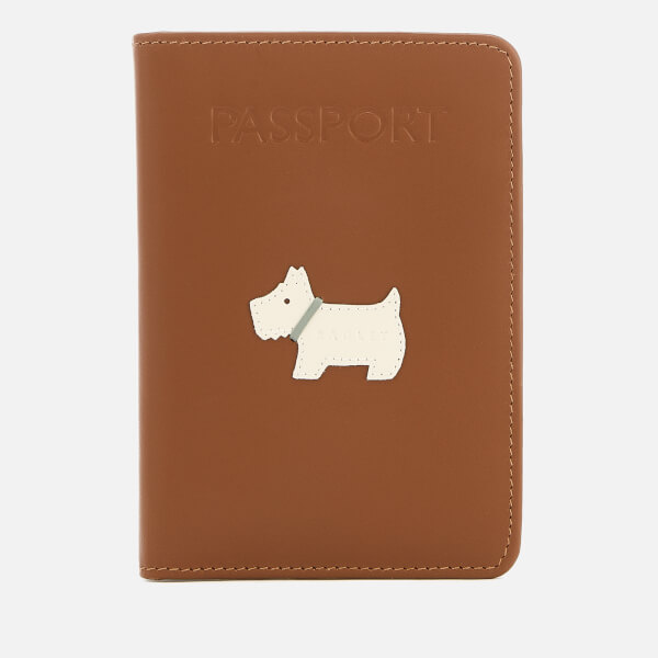 Radley Women's Heritage Dog Passport Cover - Indus Tan
