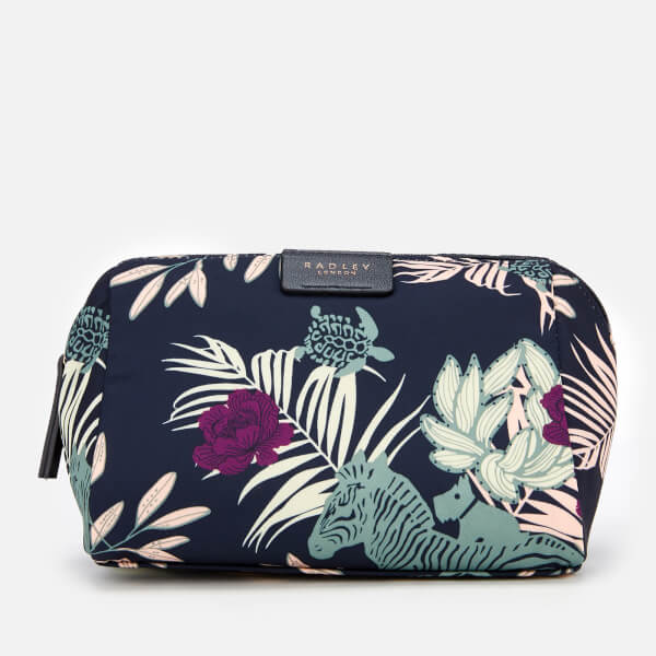Radley Women's Longleat Palms Medium Zip Around Pouch - Ink
