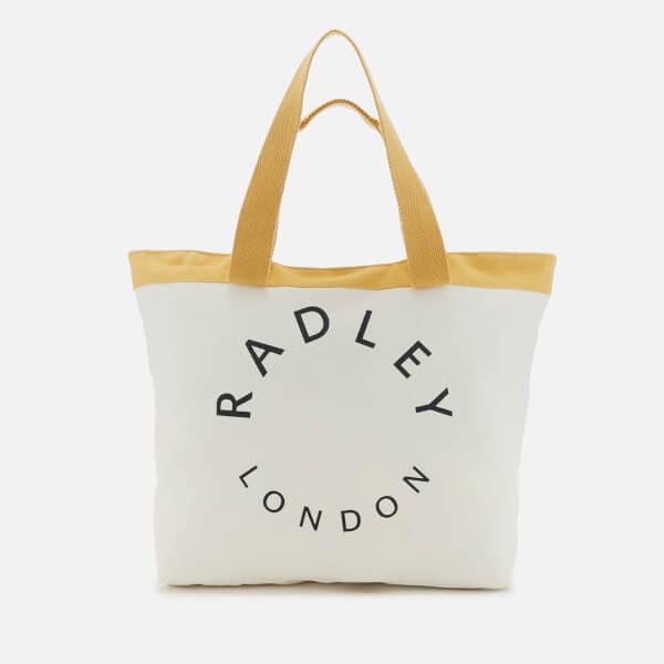 Radley Women's Graphic Radley Large Ziptop Tote Bag - Primrose