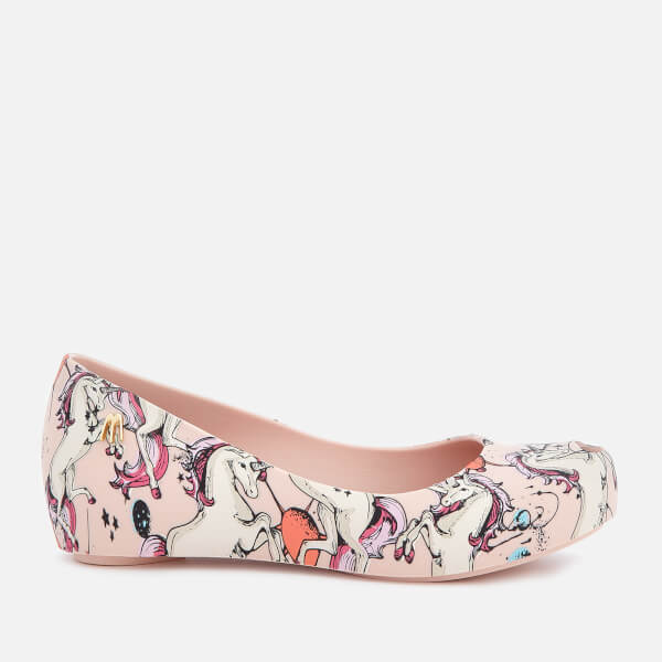 0fc3054fb00 Mini Melissa Kids Ultra Fantasy 20 Ballet Flats Blush Unicorn