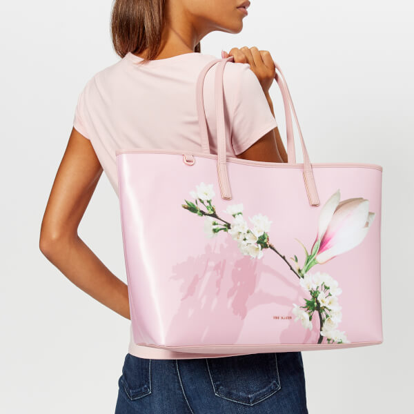d80db3c134ec06 Ted Baker Women s Beckkaa Harmony Canvas Tote Bag - Pale Pink  Image 3
