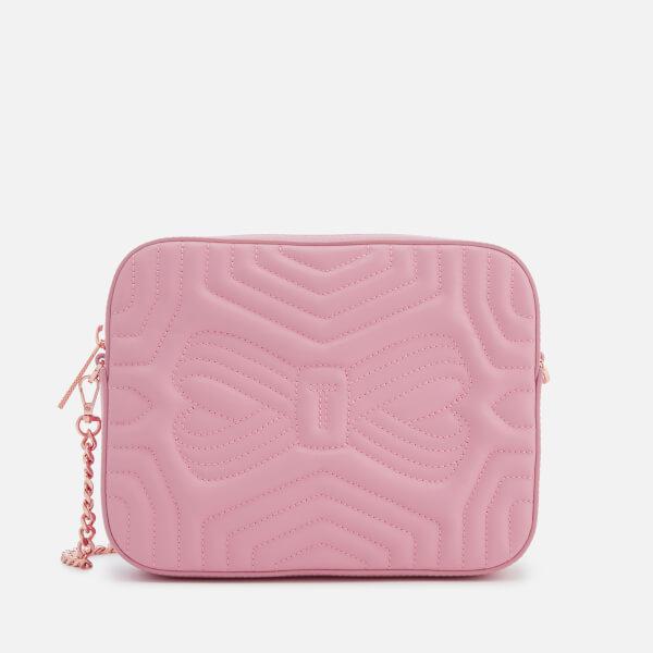 Ted Baker Women's Sunshine Quilted Camera Bag - Dusky Pink
