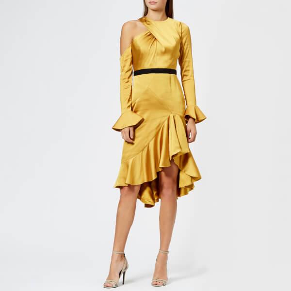 Three Floor Women s Gold Rush Dress - Tawny Olive Womens Clothing ... 463587ccb