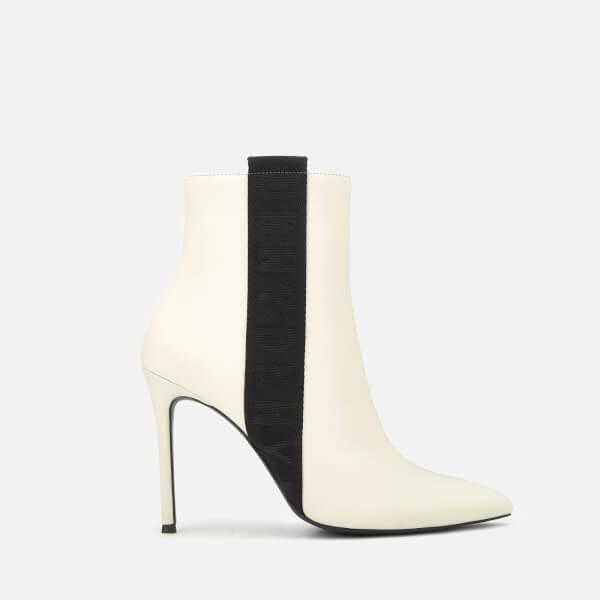 a9faff8ece70 DKNY Women s Ranita Heeled Shoe Boots - Linen  Image 1