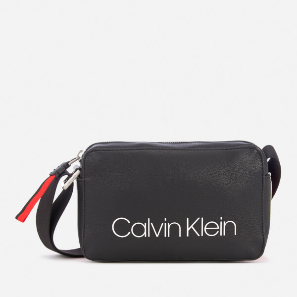 Calvin Klein Women's Collegic Small Cross Body Bag - Black