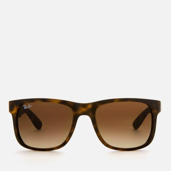 f4d5e8f751 Ray-Ban Men s Justin Square Frame Sunglasses - Rubber Light Havana  Image 1