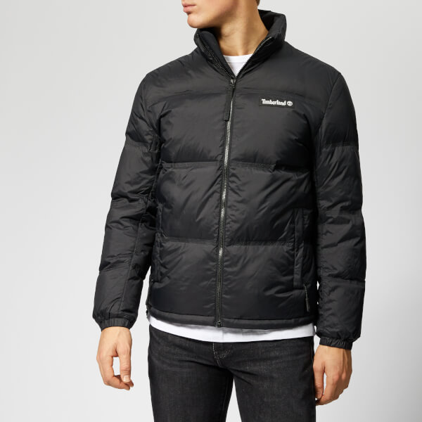 0323cdb77c Timberland Men s SLS Down Puffer Jacket - Black Clothing