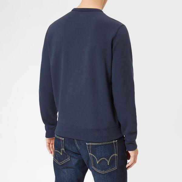 Polo Ralph Lauren Men s Double Knit Tech Sweatshirt - Aviator Navy  Image 2 eba812855733