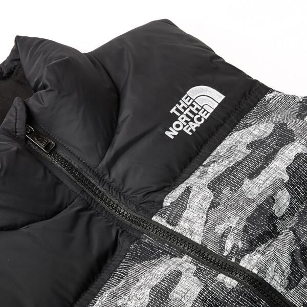 acb2751d7 The North Face Boys  Nuptse Down Vest - TNF Black Textured Camo ...