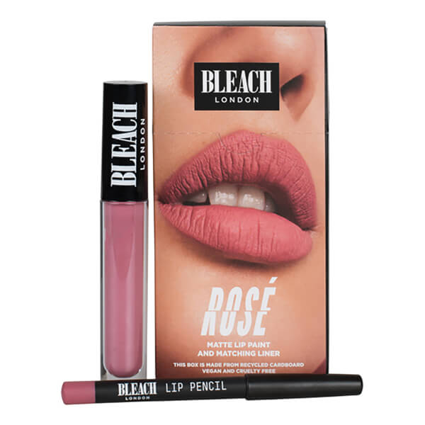 BLEACH LONDON Lip Kit Rose