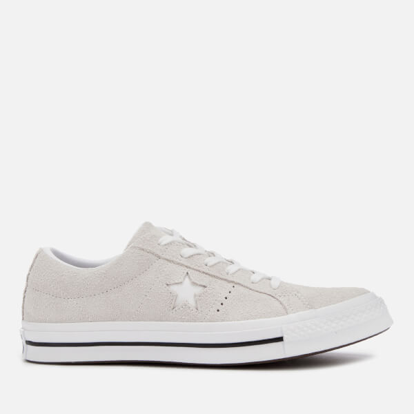 666d09a01dc4 Converse Men s One Star Ox Trainers - White  Image 1