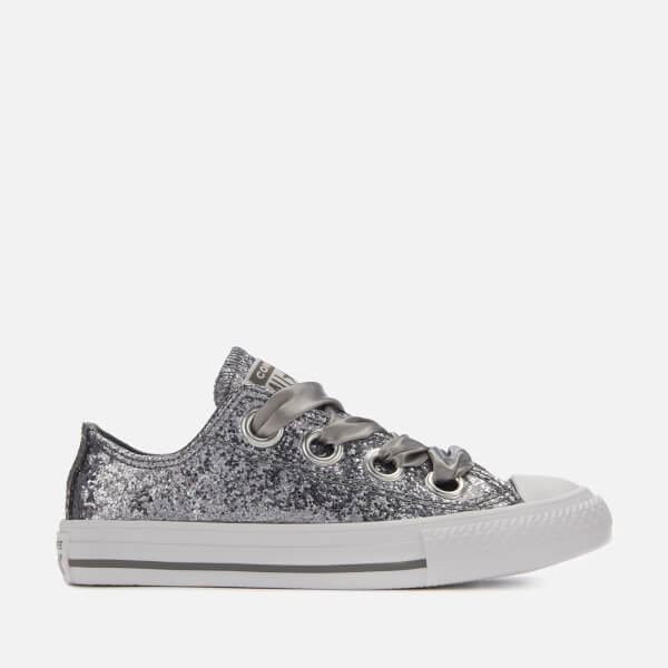Converse Kids  Chuck Taylor All Star Big Eyelets Ox Trainers - Mason White  5d4a1112f