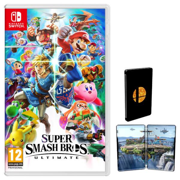 Super Smash Bros. Ultimate + Steelbook