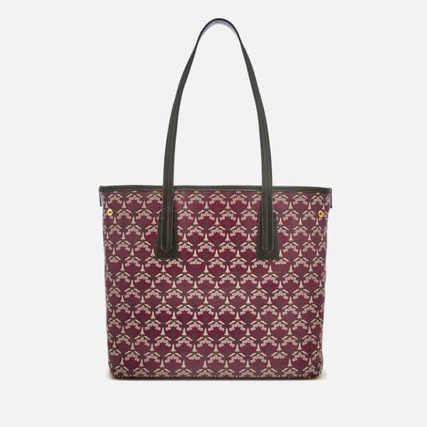 Liberty London Women's Iphis Marlborough Tote Bag - Oxblood