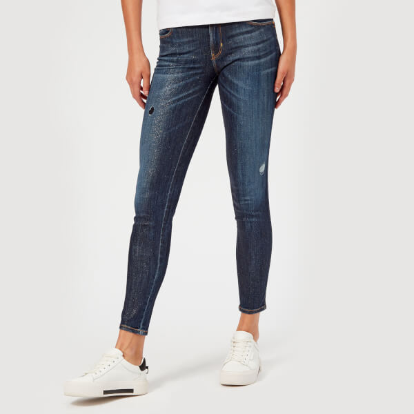 Guess Women's Denim Curve X Jeans - Hazel Glitz