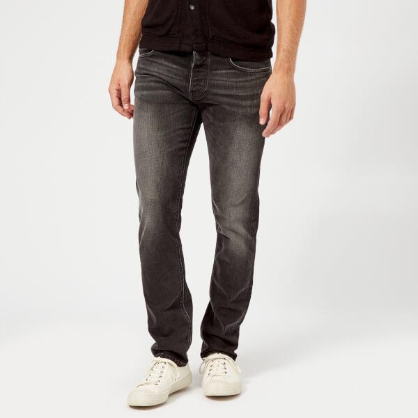 Nudie Jeans Men's Grim Tim Straight/Slim Jeans - Grey Authentic
