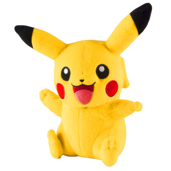 Pokémon Pikachu Soft Toy - Excited Pose